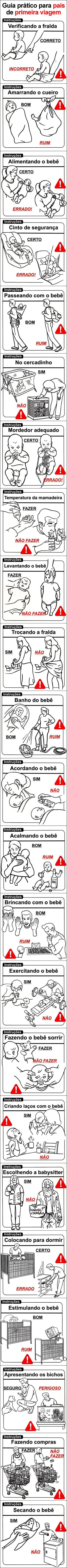 guia prático de como cuidar de bebês